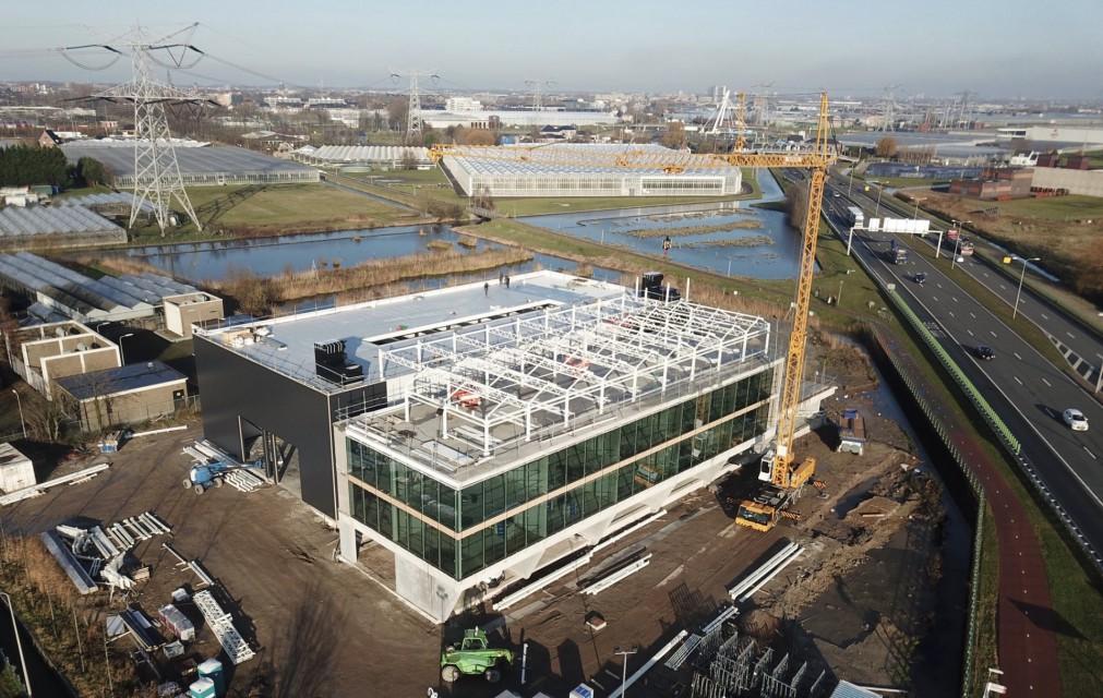 VB atrium construction