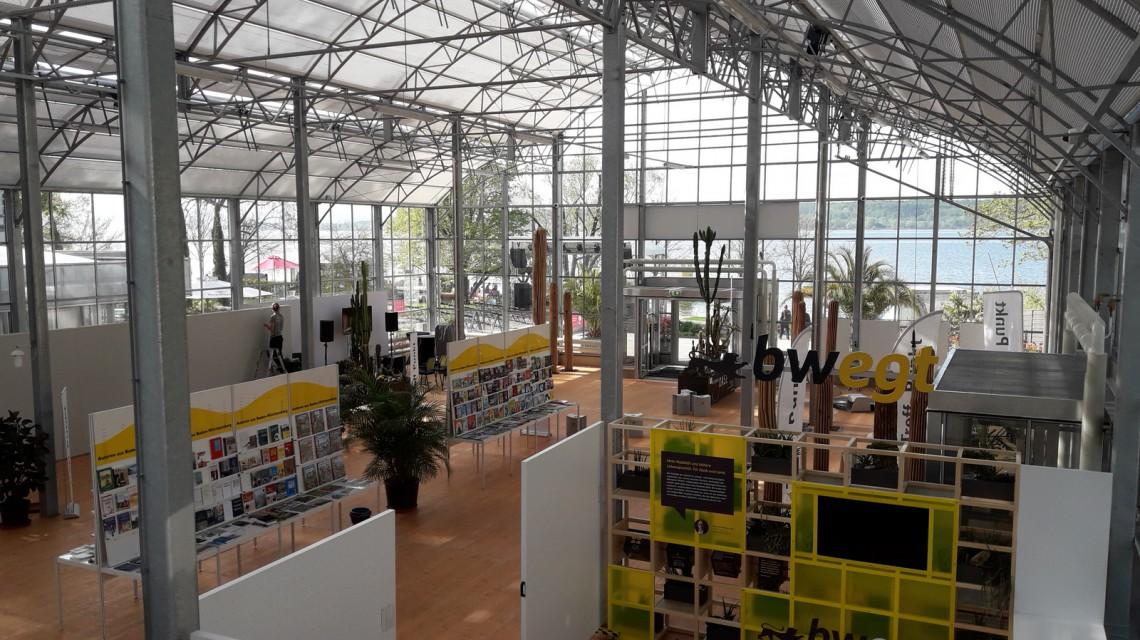 berlingen Botanischer Planzenhaus Landesgartenschau Gewachshaus