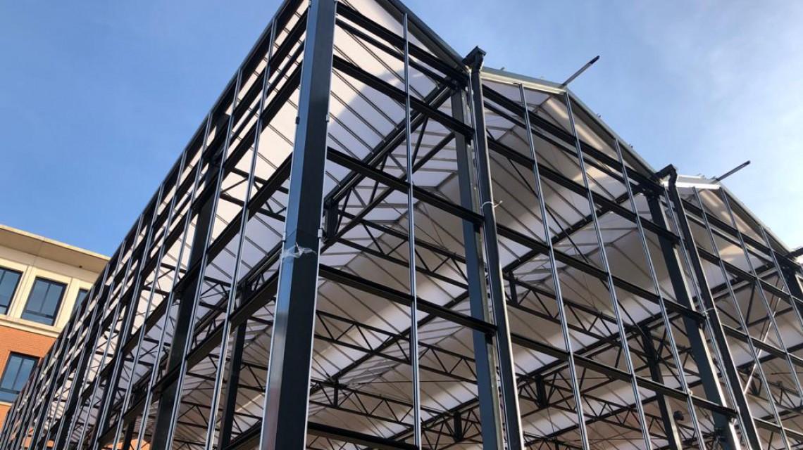 Biophilic Glass construction Planon
