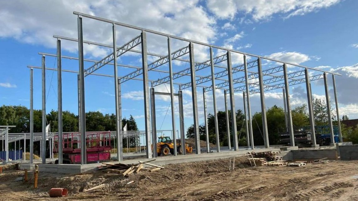 Billig Blomst Naestved Steel structure Smiemans
