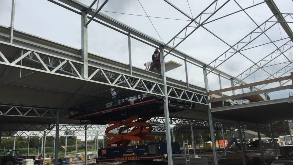 Construction garden centre Groenrijk t Haantje