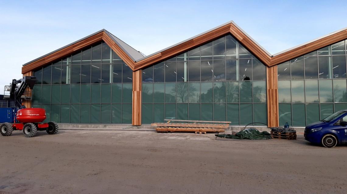 Smiemans Plantorama garden centre construction Horsholm