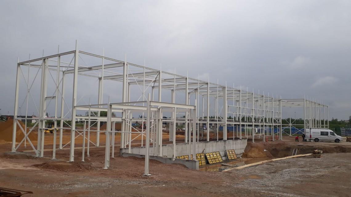 Plantorama Tilst warehouse steel