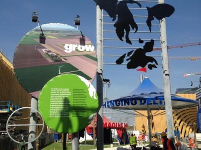 Milan Expo glass pavilion