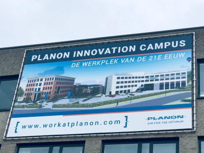 Bouwbord Planon Innovation Campus