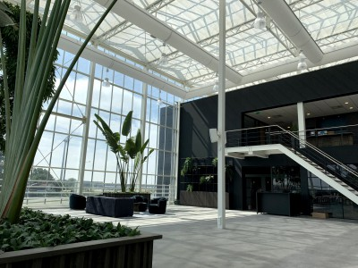 VB glass construction Smiemans atrium innovation