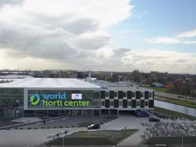 World Horti Center glass construction