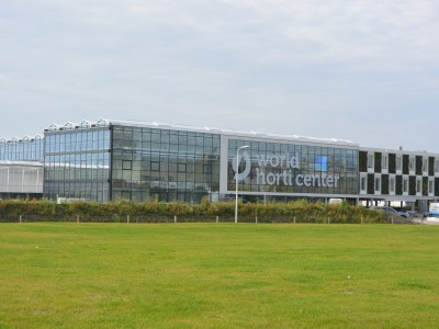 glass construction WHC horti center