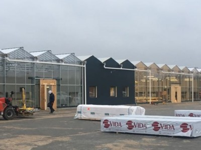 Garden centre construction Billig Blomst