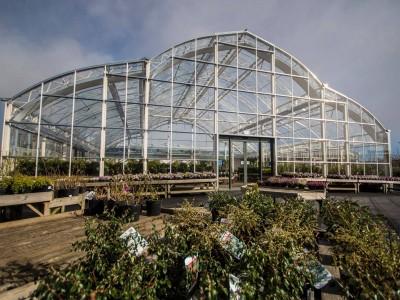 garden centre wide span construction MC