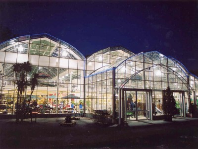 Orchard.Nacht Garden Centre Tuincentrum Glasshouse