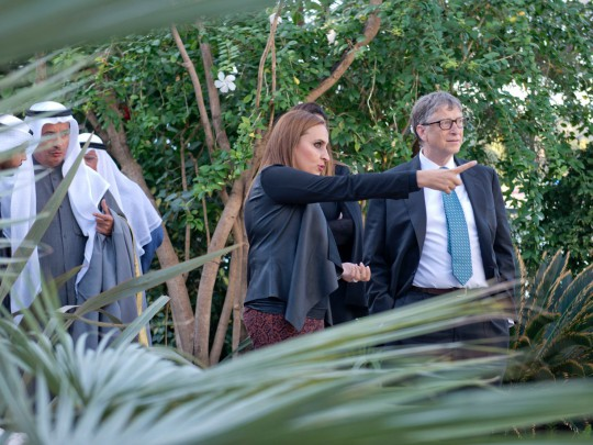 Amiri Botanical Glasshouse Bill Gates