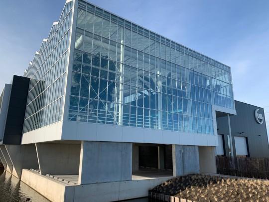 Vb glass construction atrium Smiemans