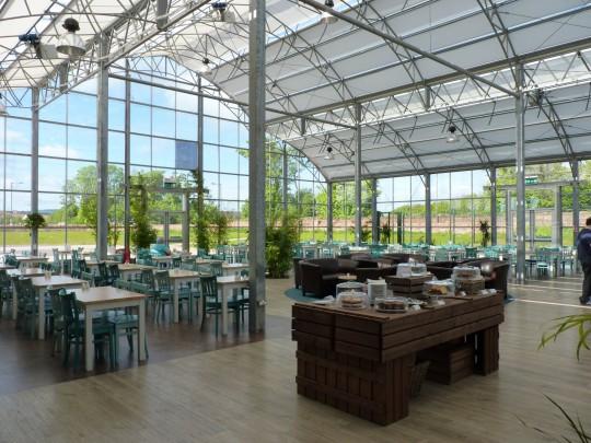 Dunbar glass restaurant