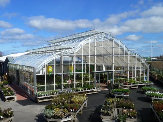 garden centre wide span construction 2