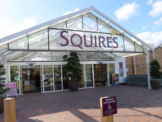 Squires Entrance