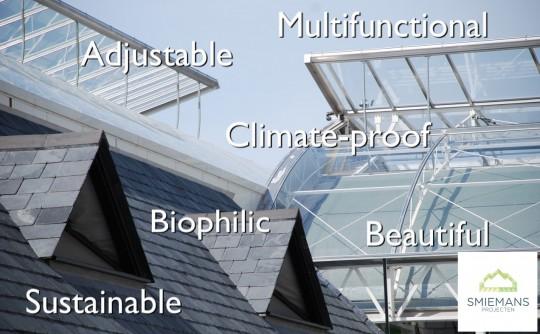 Advantages glass constructions Smiemans