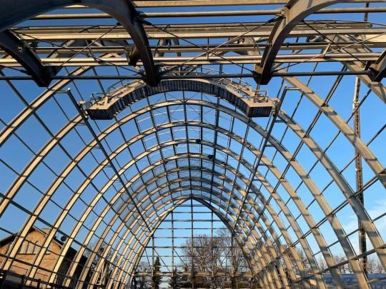 Steel construction Botanischer garten Flora Koln