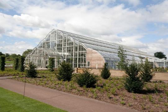 botanical garden Wisley glasshouse