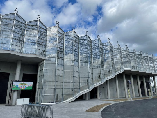 Rooftop glasshouse Agrotopia Roeselare EdenParks