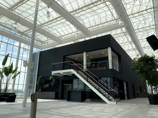 VB glass construction Smiemans atrium energyneutral