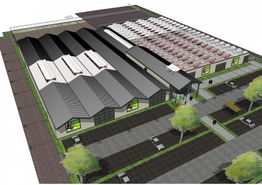 1 Constructie tuincentrum Groenrijk t Haantje