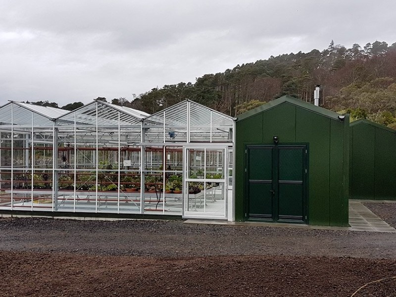 Inverewe glasshouse