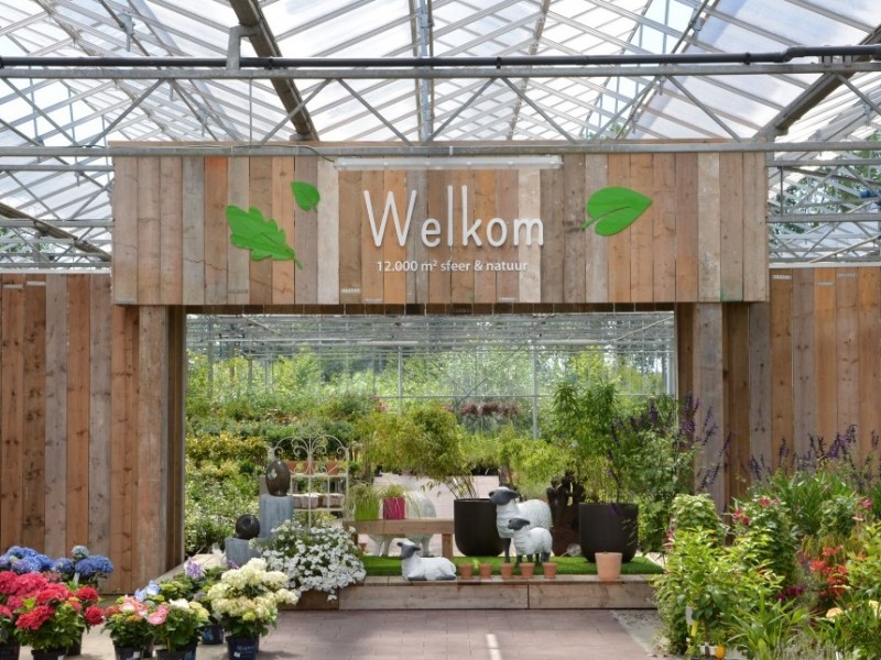 Refurbishment garden centre Bloemenhuis