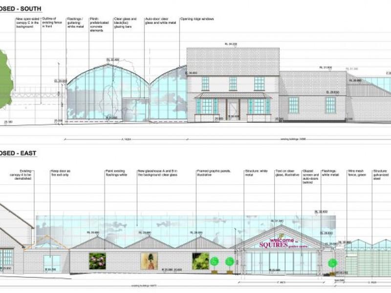 Realisation Plan garden centre