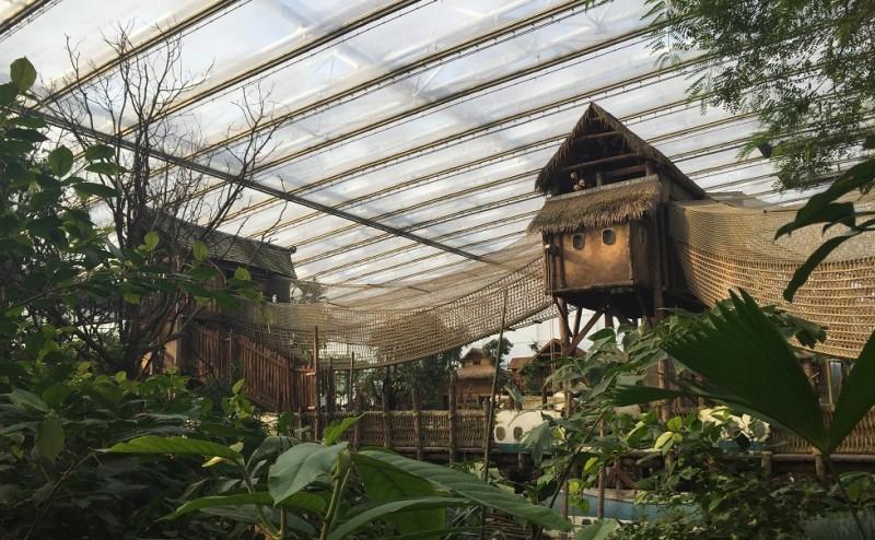 Glass construction Zoo Wildlands