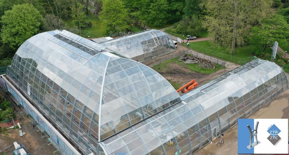 Tropical glasshouse botanical garden Flora BTTV